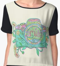 Smile for the Camera Chiffon Top