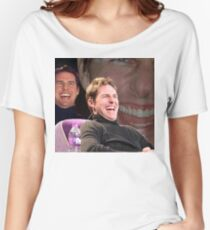Tom Cruise Laughing MEME Women's Relaxed Fit T-Shirt