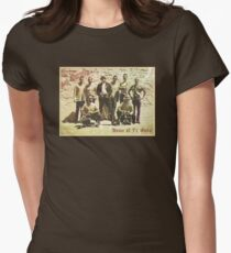 Greetings from San Quentin Women's Fitted T-Shirt