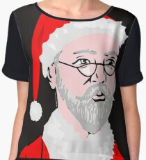 Coolest Santa on the internet Chiffon Top