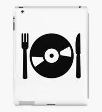 Vinyl DJ menu iPad Case/Skin