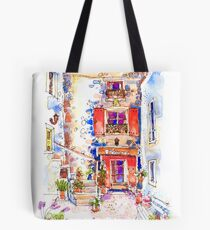 Entrance to La Bergerie, Trausse, France Tote Bag