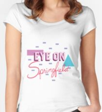 Channel 6 Eye on Springfield Women's Fitted Scoop T-Shirt