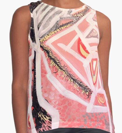 sign & feather Contrast Tank
