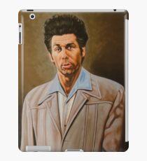 Kramer Seinfeld painting iPad Case/Skin