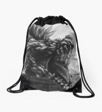 Ancient Shadow Unbound Drawstring Bag