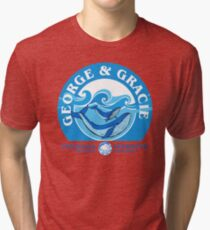 George And Gracie (Cetacean Institute) : Inspired by Star Trek IV : The Voyage Home Tri-blend T-Shirt