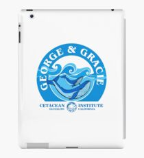 George And Gracie (Cetacean Institute) : Inspired by Star Trek IV : The Voyage Home iPad Case/Skin