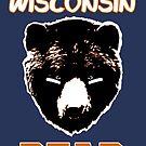 Wisconsin Bear Fan  by EdUnderground