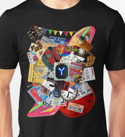 Back to the Future Trilogy MIX (saturated version) Unisex T-Shirt
