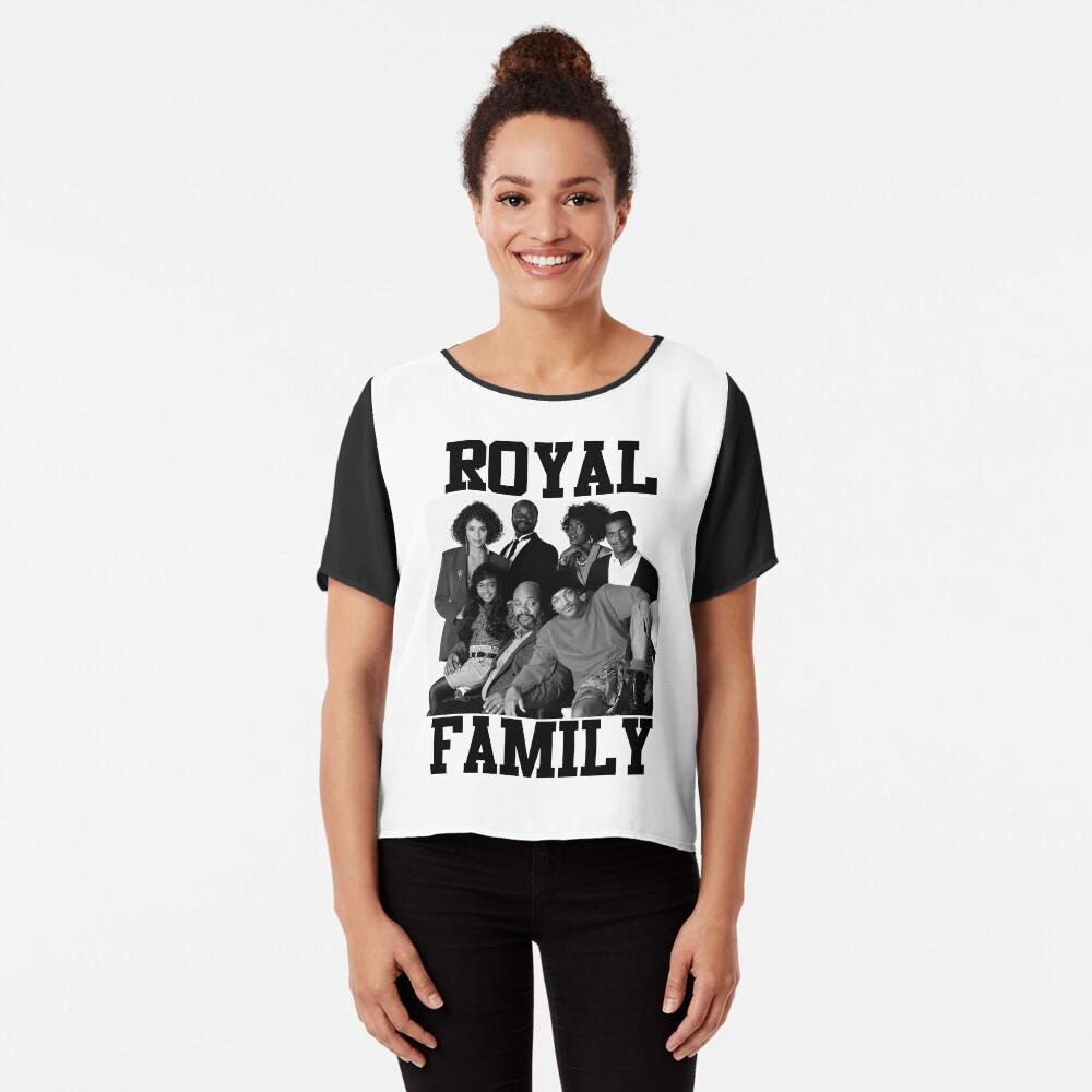 Royal Family of Bel-air Chiffon Top