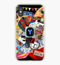 Back to the Future Trilogy MIX (saturated version) iPhone Case