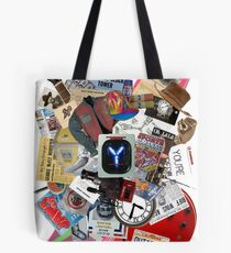 Back to the Future Trilogy MIX Tote Bag