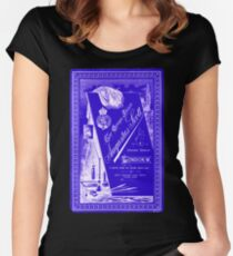 Victorian Cabinet Card Women's Fitted Scoop T-Shirt