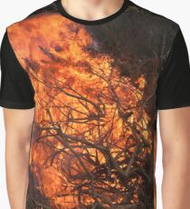National Trust Bonfire Graphic T-Shirt