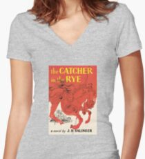 Catcher In the Rye Women's Fitted V-Neck T-Shirt