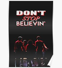 Don't Stop Believin' - Glee Poster
