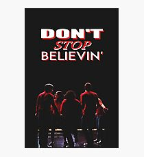 Don't Stop Believin' - Glee Photographic Print