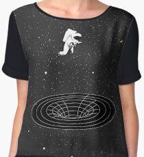 Interstellar - falling in worm hole Chiffon Top