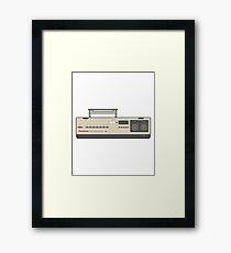 Retro VHS Player Video Cassette 80s Electronics Framed Print