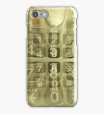 Out Going Call iPhone Case/Skin