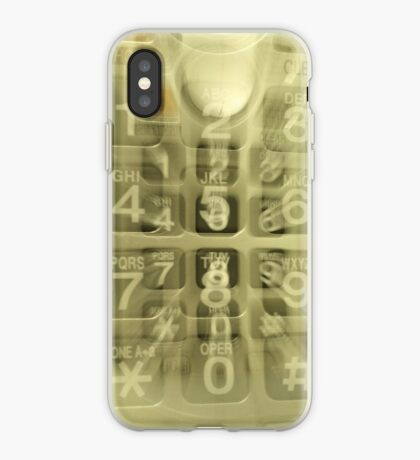 Out Going Call iPhone Case