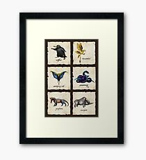 Fantastical Creatures Framed Print