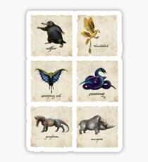 Fantastical Creatures Sticker
