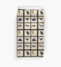 Fantastical Creatures Duvet Cover