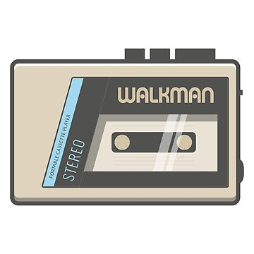 Retro Walkman Music Player 80s Electronics by FlorianRodarte