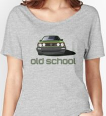Old School Golf GTI  Women's Relaxed Fit T-Shirt