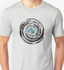 Old Vinyl Records Urban Grunge V2 Unisex T-Shirt