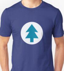 Camiseta unisex Blue Pine
