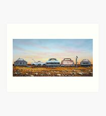 Kingswood Country Art Print