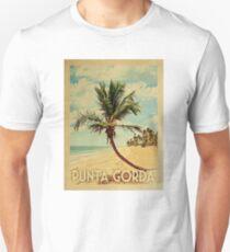 Punta Gorda Vintage Travel T-shirt - Beach Unisex T-Shirt