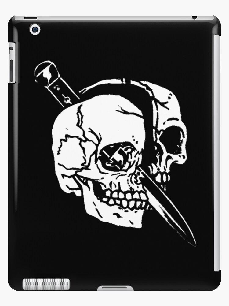 The Skull The Switchblade Ipad Cases Skins By Sharkson Supply Co
