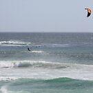 Kitesurfing at Scarborough beach by richeriley
