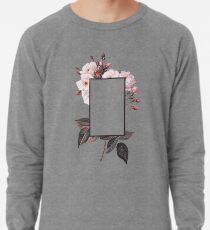 Blumen-Rechteck-Logo Leichter Pullover