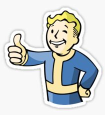 Vault Boy Sticker