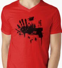 Bloody Guns! Men's V-Neck T-Shirt