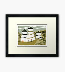 Ride to the Biddons Framed Print