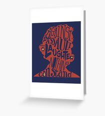 Literary Marvels- Mark Twain Greeting Card