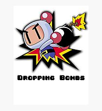 Dropping Bombs Photographic Print