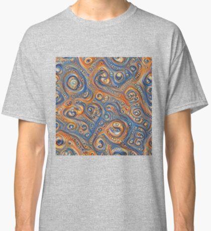 Blue Orange #DeepDream Classic T-Shirt