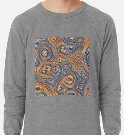 Blue Orange #DeepDream Lightweight Sweatshirt