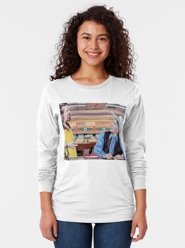 Alternate view of Dude, You've Got Style Long Sleeve T-Shirt