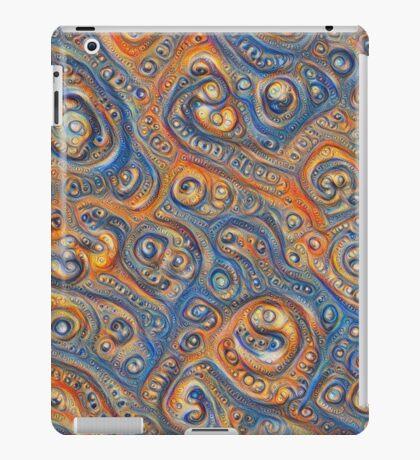 Blue Orange #DeepDream iPad Case/Skin