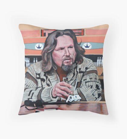 Jeffrey Lebowski Throw Pillow