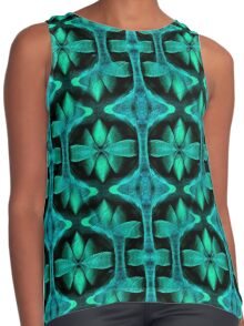 Shades of Turquoise Design Contrast Tank