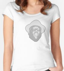 Biggie B.I.G NOTORIOUS smalls T-shirt Women's Fitted Scoop T-Shirt